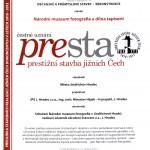 Muzeum Jindřichohradecka - Čestné uznání PRESTA 2012