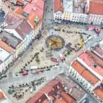Zádlažba náměstí J. Hradec
