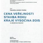 Stavba Kraje Vysočina Náměstí Počátky - Cena veřejnosti